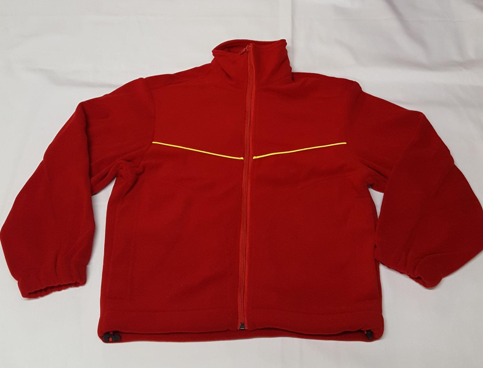 Jacke dunkel rot