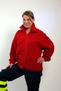 Fleece-Jacke dunkelrot Art. 9820