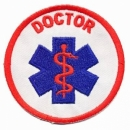 Star of Life Emblem gestickt